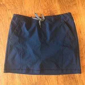 💌 Skort Skirt Drk Blue M Eddie Bauer Women's